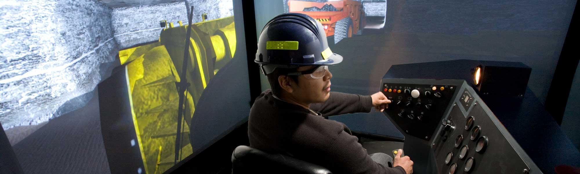 Underground Miner Training